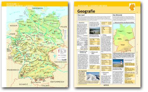 Beispiel aus Deutschland in Karten