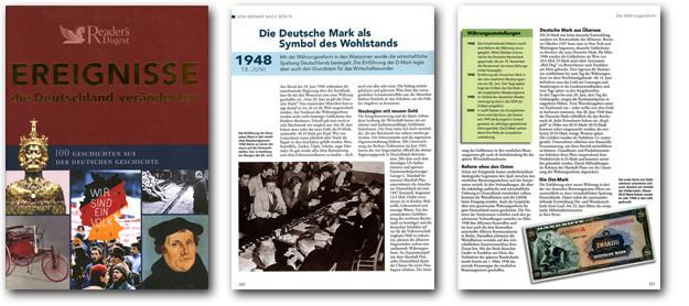 Bilder des Buchs Ereignisse, die Deutschland veränderten